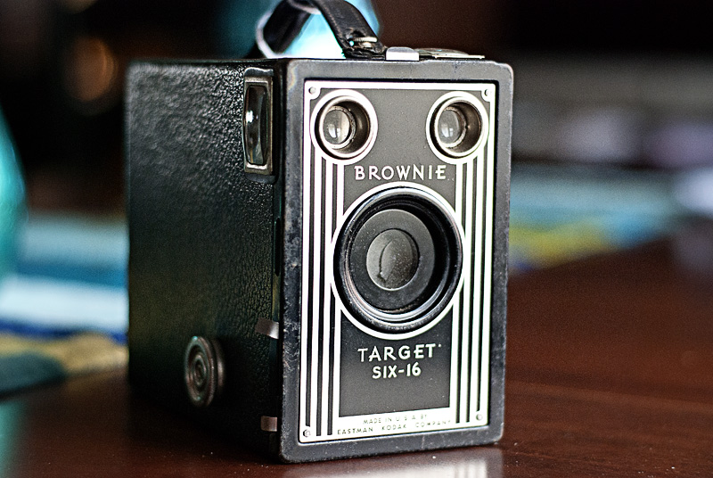 Antique Brownie Camera