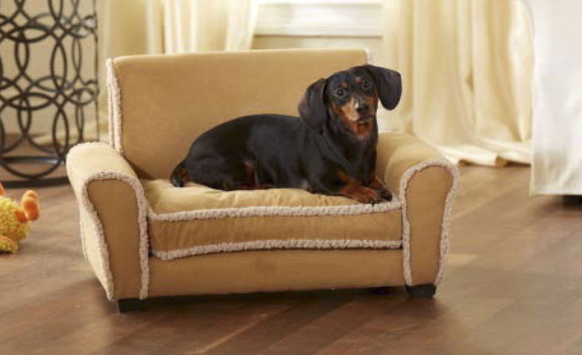 Club Chair Pet Bed