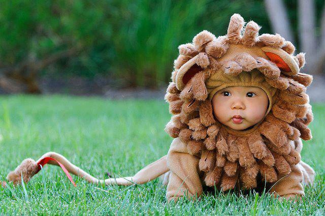 Unisex Baby Lion Costume