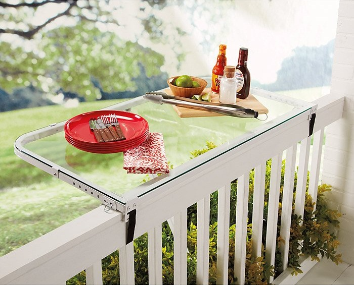 Deck Rail Tray