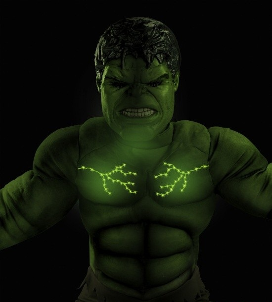 Hulk Muscle Costume
