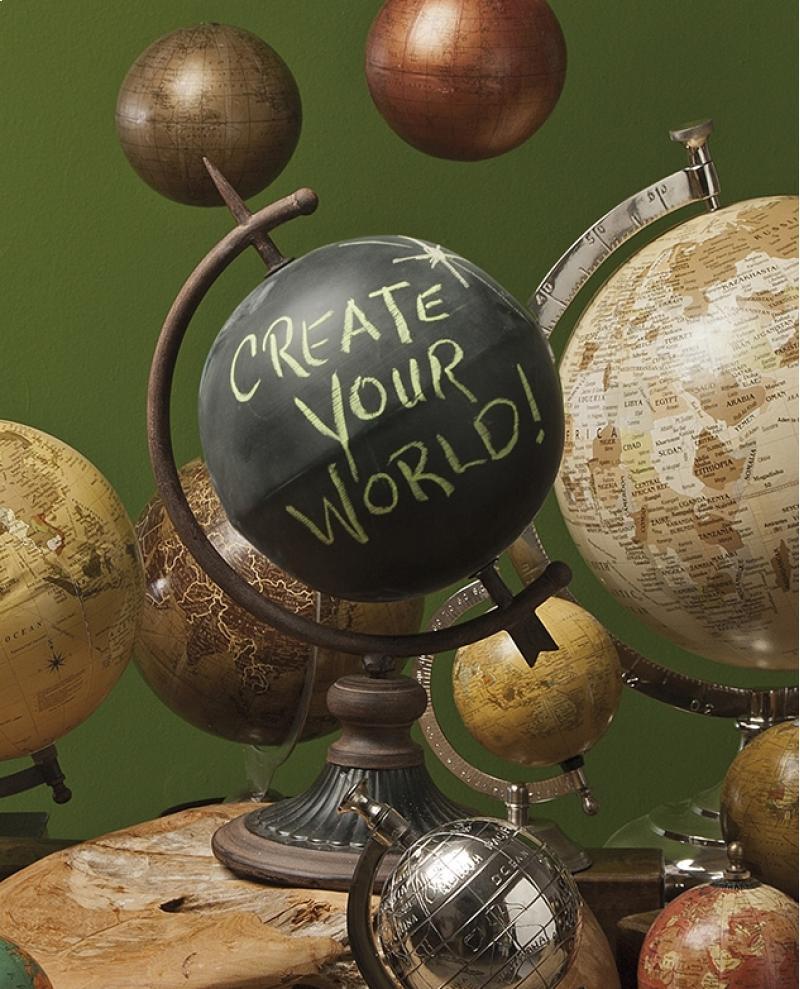 Chalk Globe