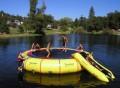 Island Hopper Water Trampoline