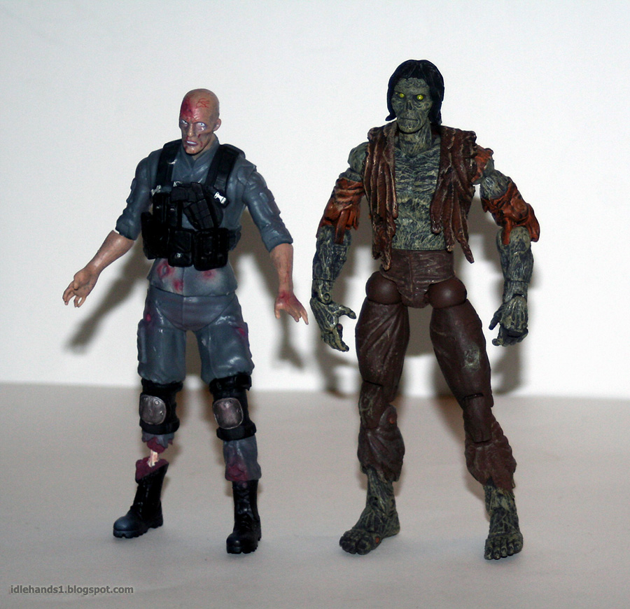 World War Z Action Figures