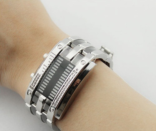 Army Style LED Watch