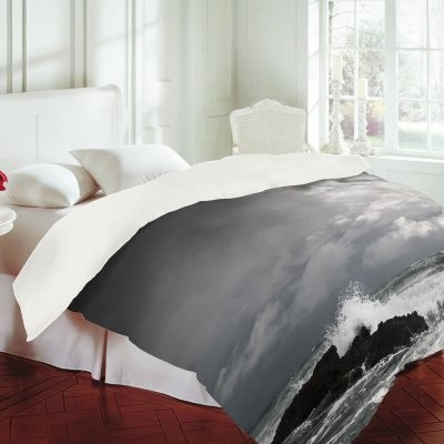 White Water Duvet Cover