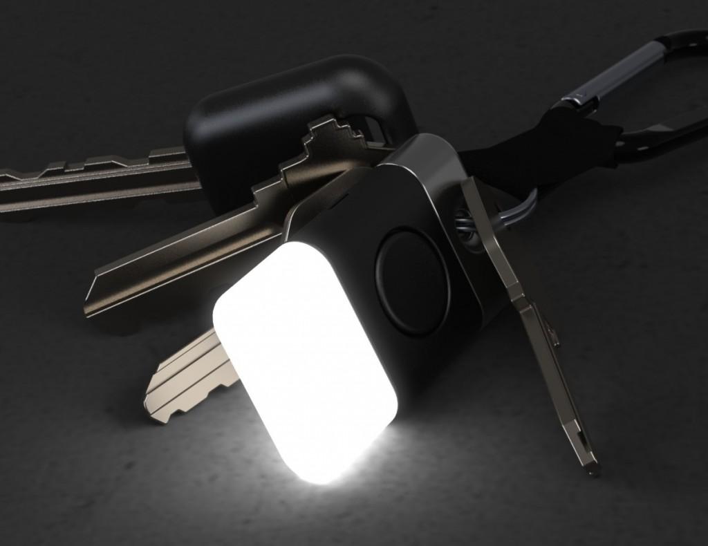 Glowing LED Key Fob