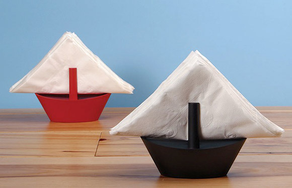 Sail Boat Napkin Holder