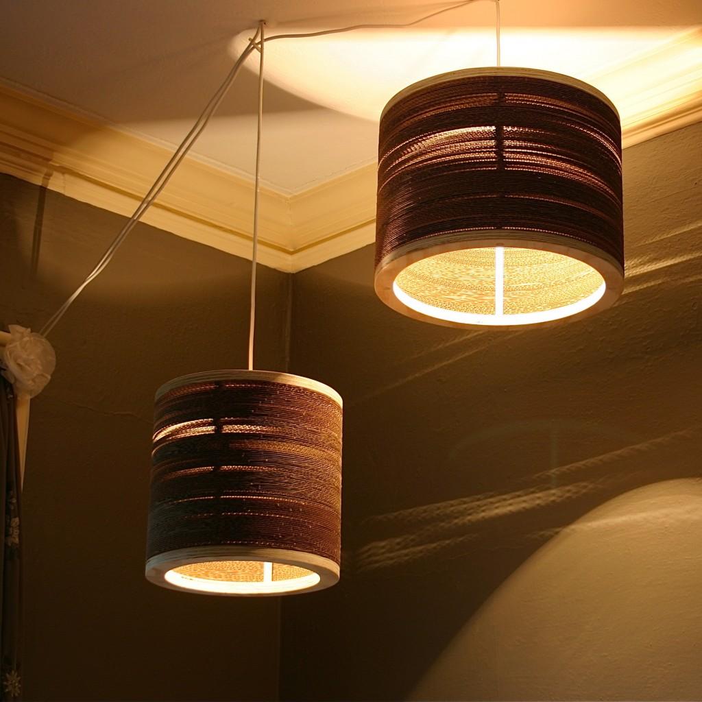 Spaced Corrugated Drum Lights