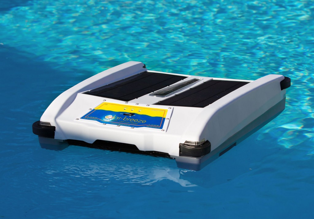 Robotic Solar Pool Skimmer
