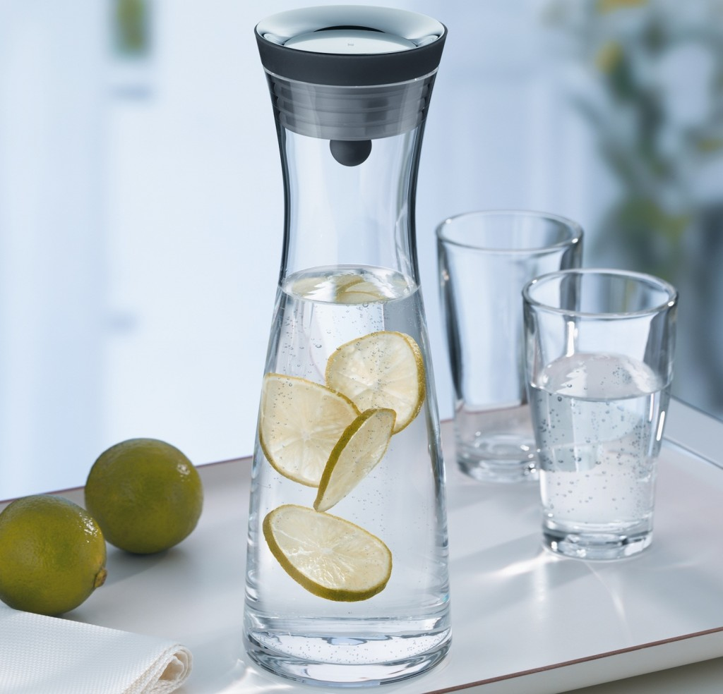 Black Water Carafe