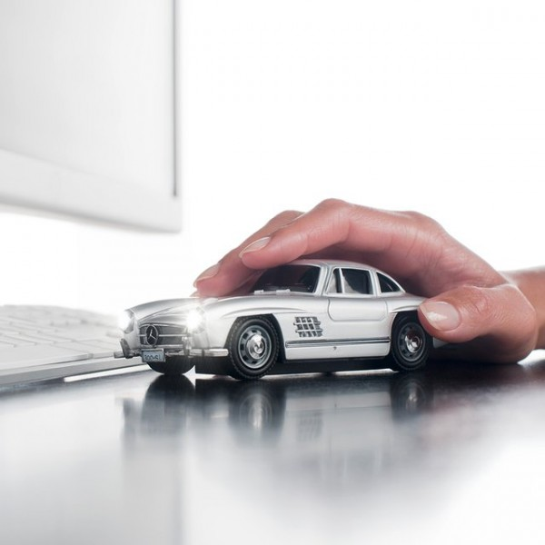 Mercedes Benz 300SL Optical Mouse