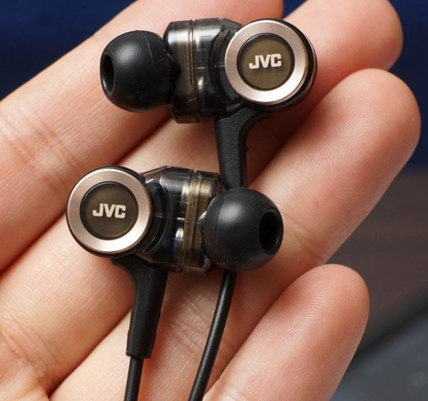 JVC In-Ear Headphones