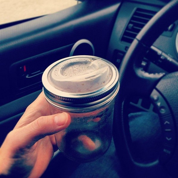 Wide Drinking Lid by Cuppow