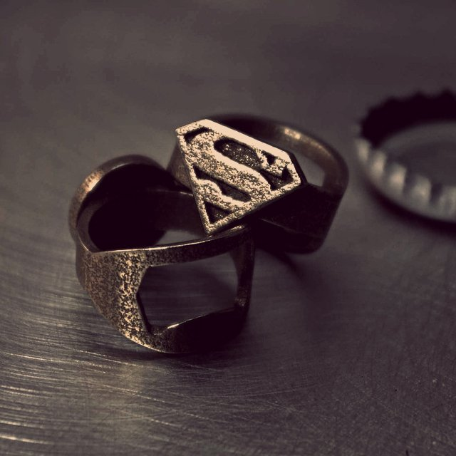 Superman Bottle Opener Ring