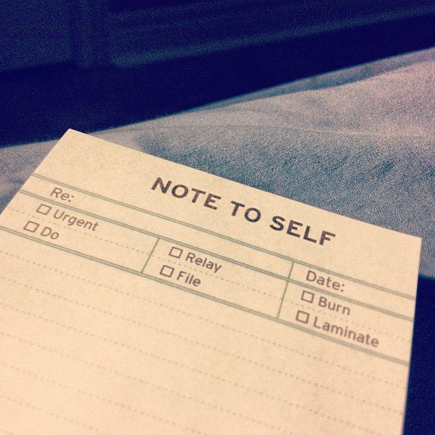 Note to Self Pocket Notes