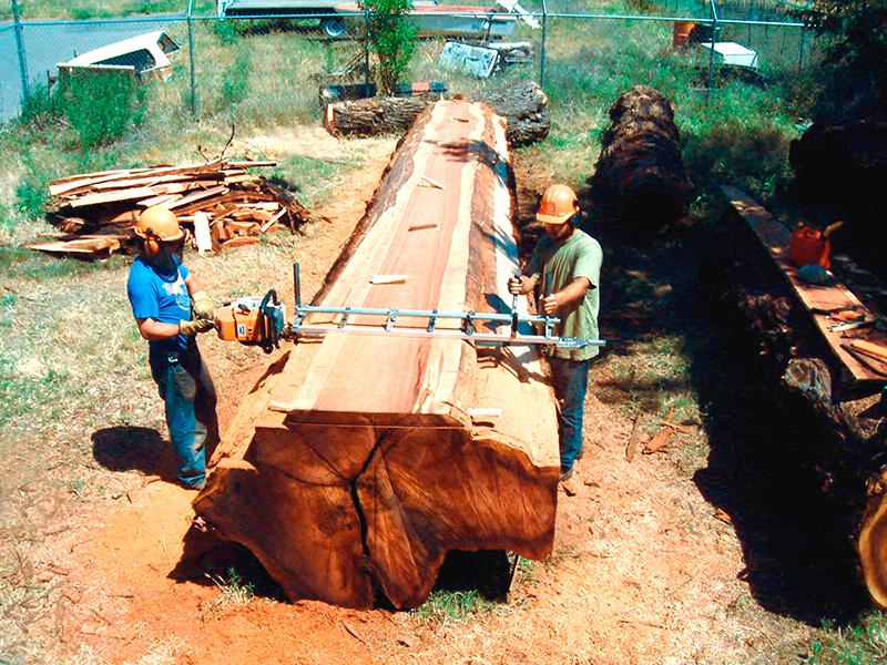 Alaskan Portable Lumber Mill