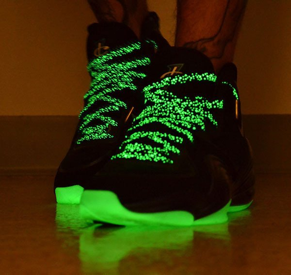 Black Galaxy Glow Laces