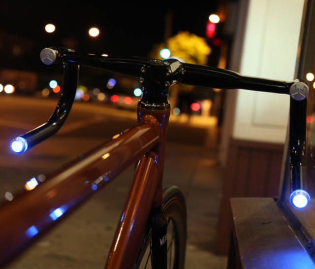 Helios Smart Bike Handlebars