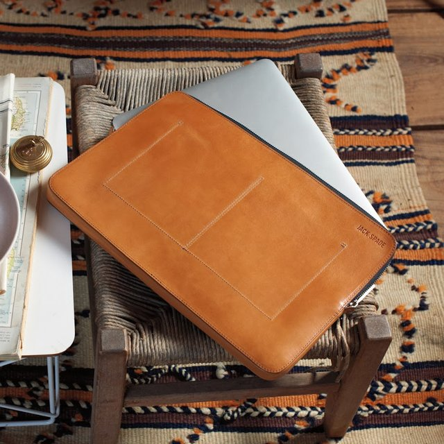 Mitchell Leather Laptop Sleeve