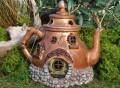 Miniature Fairy Garden Tea Pot House