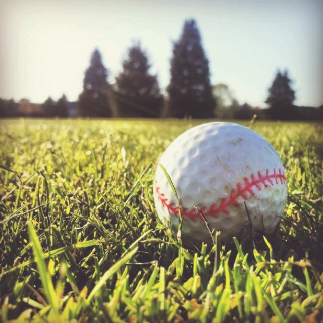 Baseball Golf Balls