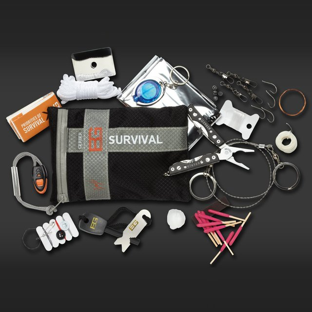 Bear Grylls Ultimate Survival Kit by Gerber