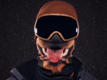 Beardo Rottweiler Ski Mask
