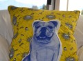 Areaware English Bulldog Pillow