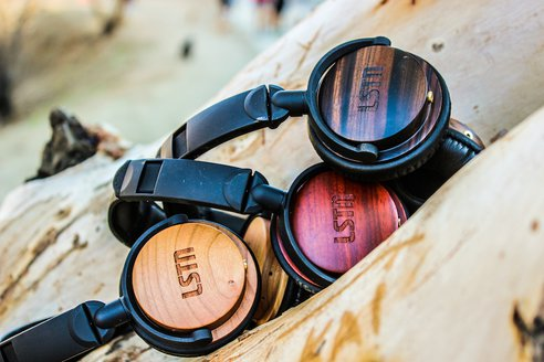 Ebony Headphones by LSTN
