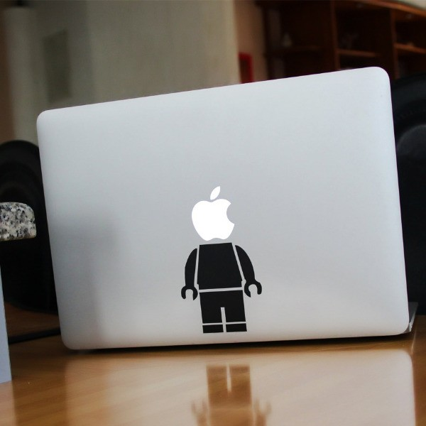 Lego Buddy Sticker for Macbook