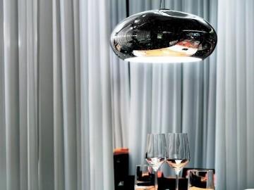 Mercure S Glass Pendant Lamp