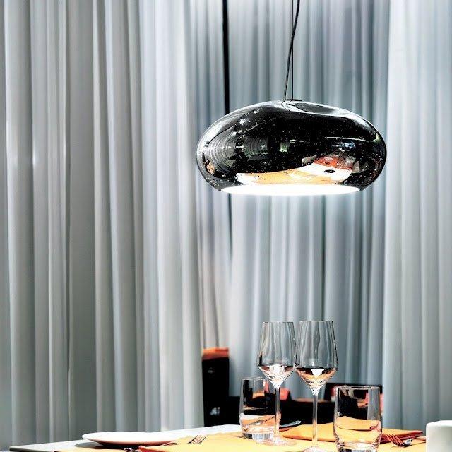 Mercure S Glass Pendant Lamp by Patrick Jouin