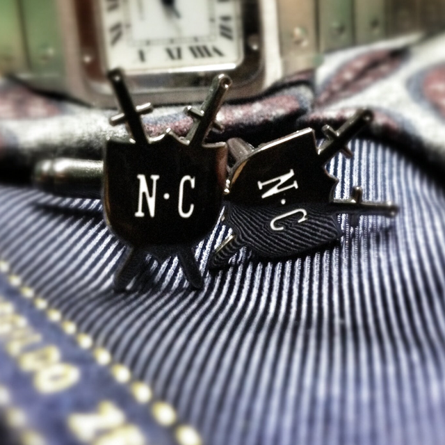 Noble Custom Cufflinks