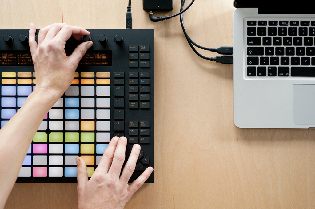 Push Software Controller by Ableton