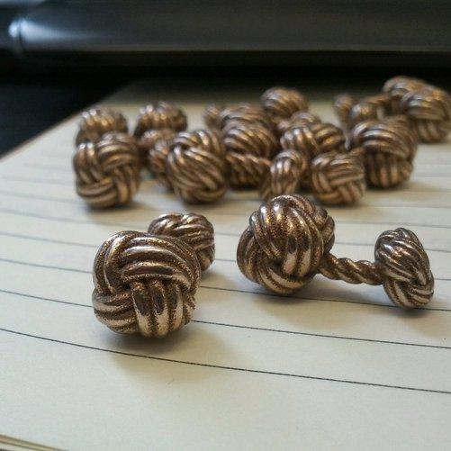 Woven Knot Cufflinks