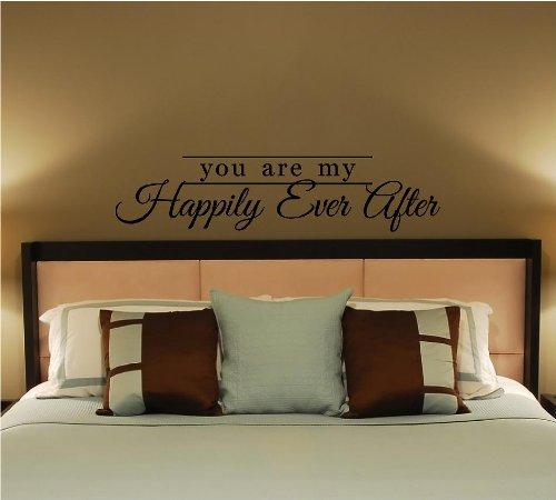 You Are My Happily Ever After Vinyl Wall Decal