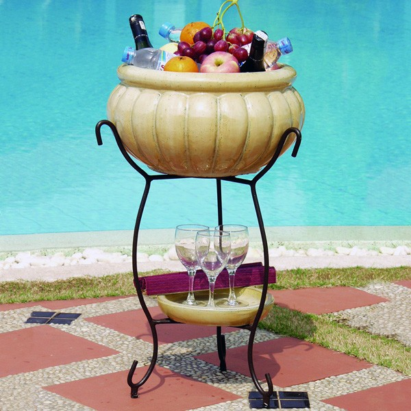 Alfresco Planter and Beverage Cooler