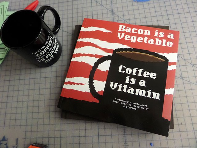 Bacon is a Vegetable, Coffee is a Vitamine