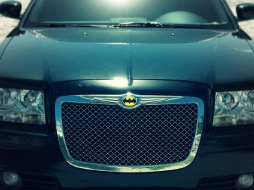 Batman Chrome Auto Emblem
