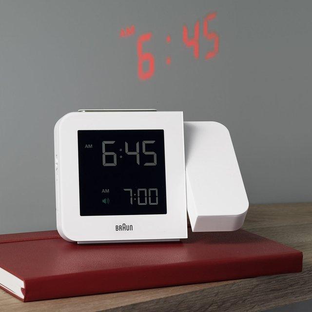 Braun Projecting Alarm Clock