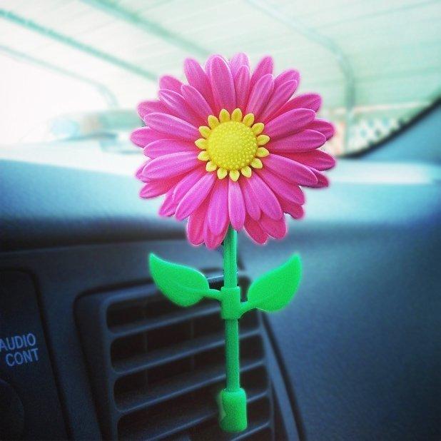 Daisy Vent Clip Air Freshener
