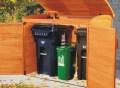 Garbage Can Storage Shed