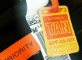Getting A Tan Luggage Tag