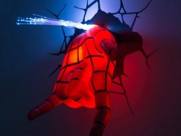 Spidey Hand 3D Deco Light