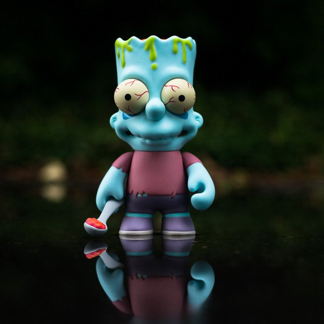 Bart Simpson Zombie by Kidrobot