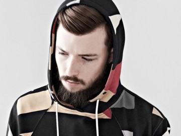 Big Flags Hooded Sweater by I Love Ugly