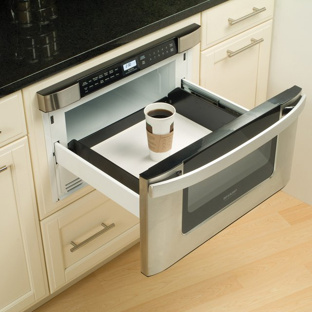 Built-In Microwave Drawer by Sharp