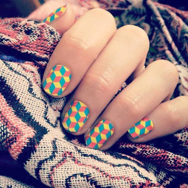 Cubed Nail Wraps by NCLA