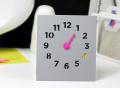Desk Clock by Block